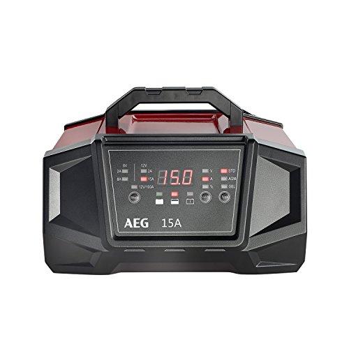 AEG 158009 Werkstatt-Ladegerät WM Ampere für 6 und 12 Volt Batterien, mit Autostart-Funktion,...