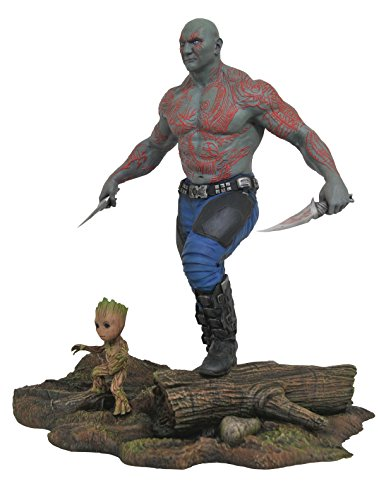 Marvel MAY172524 Drax & Baby Groot Statue, No Color, One Size