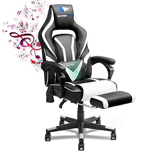 SOUTHERN WOLF Gaming Stuhl, Ergonomisch Videospielstuhl mit...