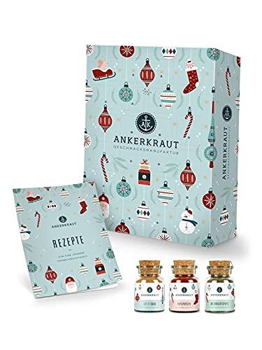 Ankerkraut Premium Gewürz-Adventskalender 2021 |...