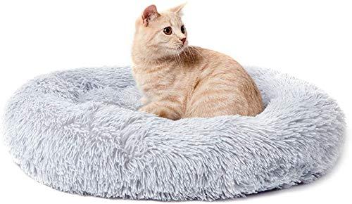 ITODA Haustierbett Donut Hundebett Haustier Bett Flauschig...