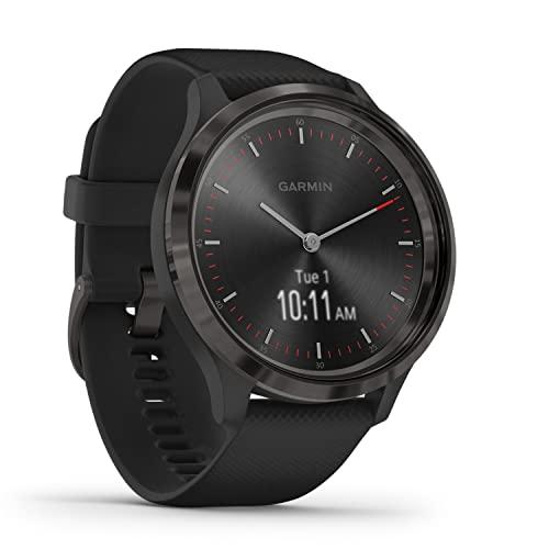 Garmin vívomove 3 – stilvolle Hybrid-Smartwatch mit analogen...
