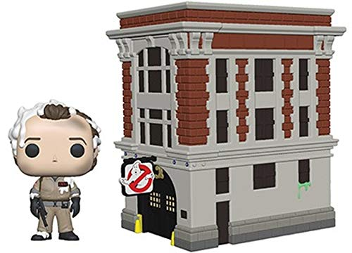 Funko 39454 POP Town: Ghostbusters-Peter with House Collectible...