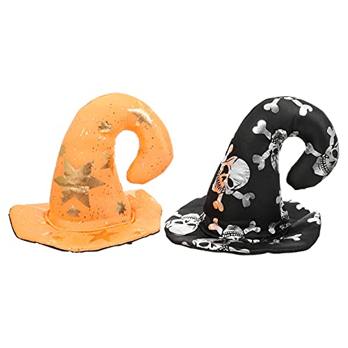 WINOMO 2Pcs Halloween Party Pet Hut Decor Kreative Katze Hund...