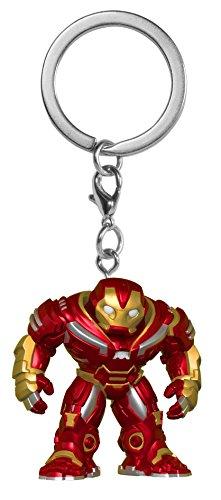 Funko 27300-PDQ POP! Schlüsselanhänger Figur: Marvel: Avengers...