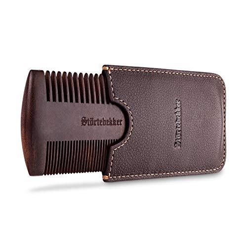 Störtebekker® Premium Bartkamm aus Holz mit handgefertigtem...
