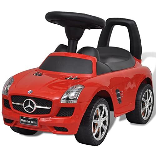 LINWXONGQP Farbe: Rot Kinderfahrzeuge Mercedes Kinderauto...