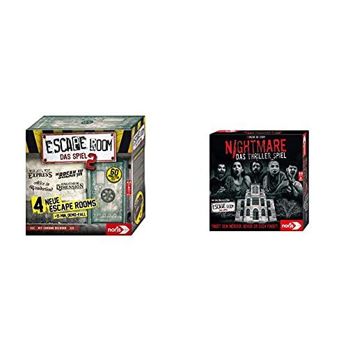 Noris 606101891 Escape Room 2 (Grundspiel) Familien und...