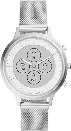 Fossil Women's FTW7030 Charter Hybrid Smartwatch HR with Always-On Readout Display, Heart Rate,...