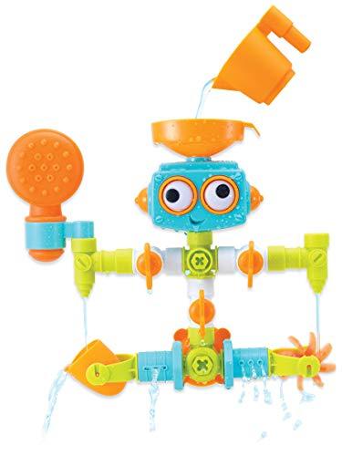 Infantino Sensory Plug & Play Klempner-Set – Badewannen-Roboter...