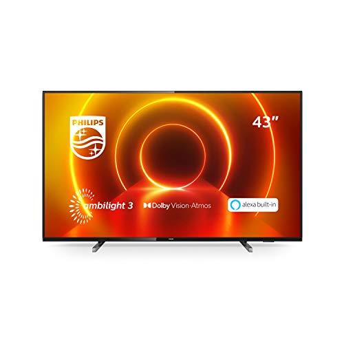 Philips Ambilight 43PUS7805/12 Fernseher 108 cm (43 Zoll) LED TV...