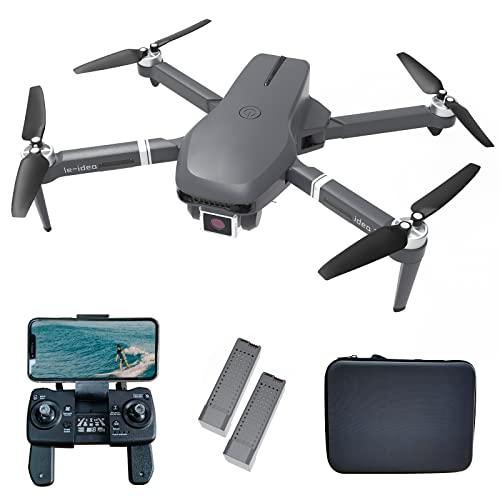 le-idea Drohne mit Kamera 4k GPS mit Brushless Motor, IDEA31 5GHz...