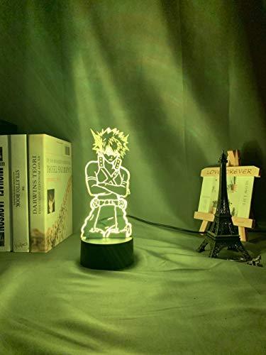 3D Nachtlicht Adventskalender 2021 LED Nachtlicht My Hero Academy...