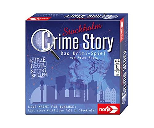 noris 606201969 Crime Story Stockholm - Das Detektiv Spiel -...