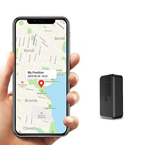 Mini GPS Tracker Kinder, Kimfly Magnet GPS Tracker mit Free APP...