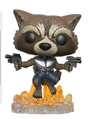Marvel Guardians of the Galaxy Wackelkopf Figur Rocket Raccoon...