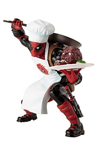 Marvel Comics MK252 Universe Cooking Deadpool Artfx+ Statue