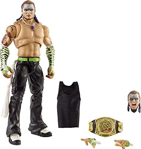 WWE HCH14 - Jeff Hardy Actionfigur Ultimative Edition, ca. 18 cm...