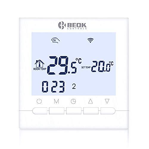 Beok BOT-313 WiFi-Thermostat Für Gaskessel, Programmierbar,...