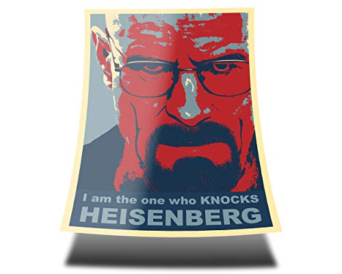 GREAT ART Red Blue Poster – Breaking Bad I am The one who...