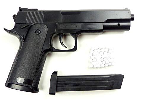 Evil Wear Softair Waffe Pistole Spielzeug Sniper-Gun P53 schwarz