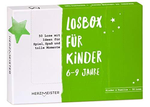 NEU: Losbox für Kinder 6 – 9 Jahre I Das Geschenk für...