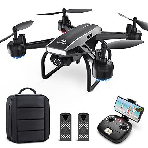 DEERC Drohne mit Kamera 1080P FHD Live Übertragung 120°...