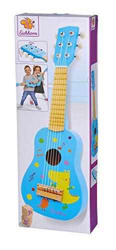 Eichhorn – Gitarre für Kinder – blaue Kindergitarre,...