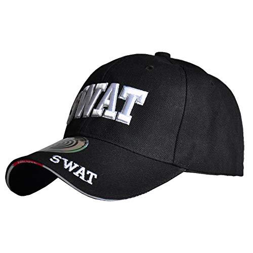thematys® - SWAT Mütze Herren S.W.A.T. Cap Polizei Ausrüstung...