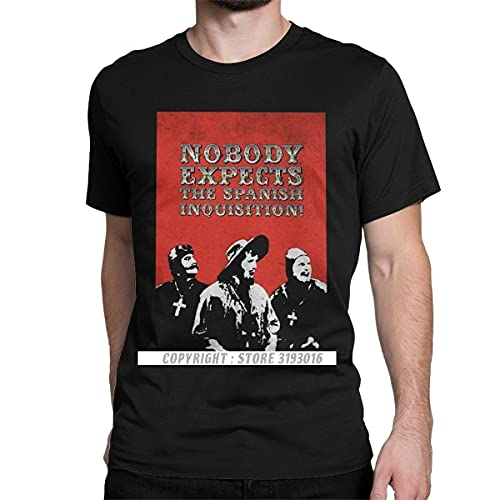Casual Tshirt Nobody Expects The Spanish Inquisition Tshirts...