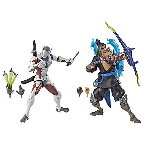 Overwatch Ultimates Series Hanzo und Genji Doppelpack 15 cm...
