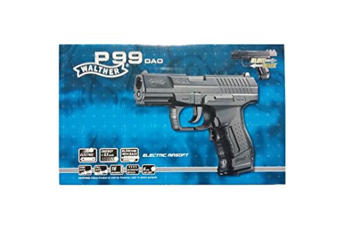 Walther Softair P99 DAO electric mit Maximum 0.5 Joule Airsoft...