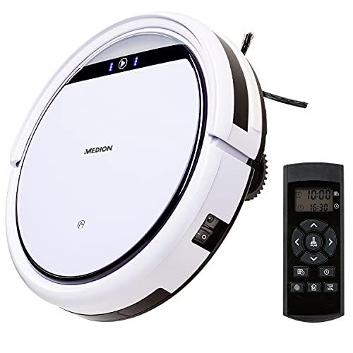 MEDION Saugroboter mit Ladestation E32 (Modell 2021, 120 Min....