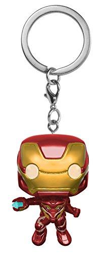 Funko 27303-PDQ POP! Schlüsselanhänger Figur: Marvel: Avengers...