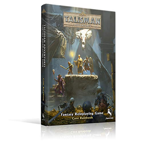 Pegasus Spiele 47500E - Talisman Adventures RPG Core Regelbuch