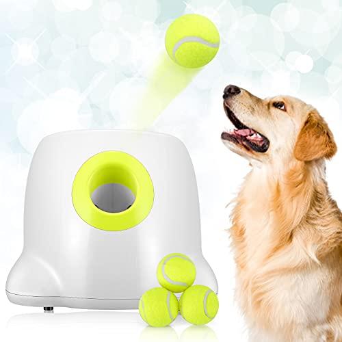 Automatischer Ballwerfer KKTECT Hunde Ballwurfmaschine Mit 3...