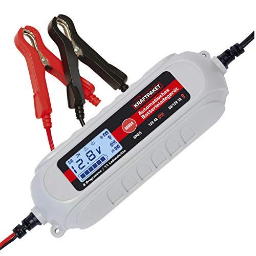 Dino KRAFTPAKET 136311 4A-6V/12V Batterieladegerät mit...