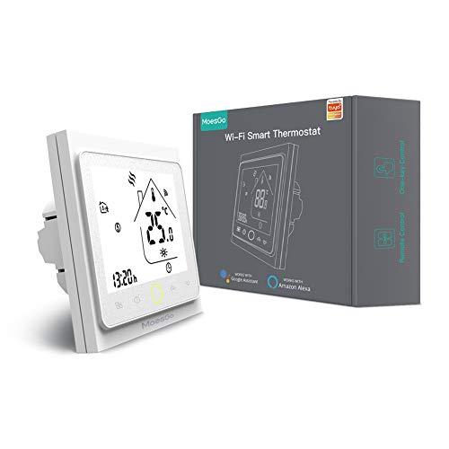 MoesGo Smartes, programmierbares, WLAN fähiges Thermostat und...