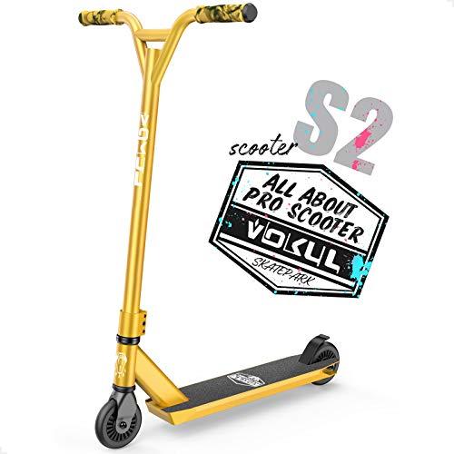 VOKUL TRII S2 Stunt Scooter - Freestyle Kickscooter mit Stabiler...