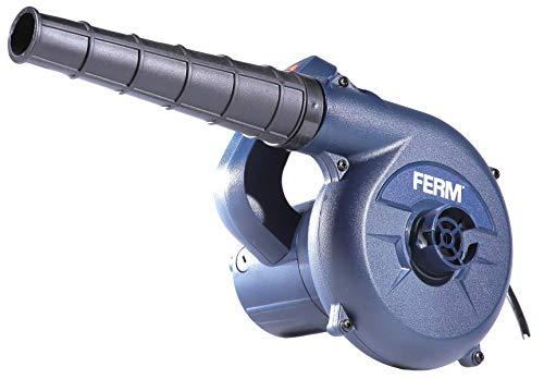FERM Elektro Staubbläser 400W - Variable Geschwindigkeit - Inkl....