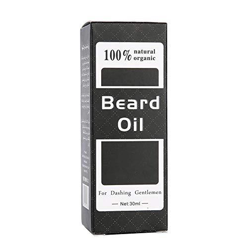 Bartwuchsöl, Schnurrbartverstärker, sicher 30ml 82g für...