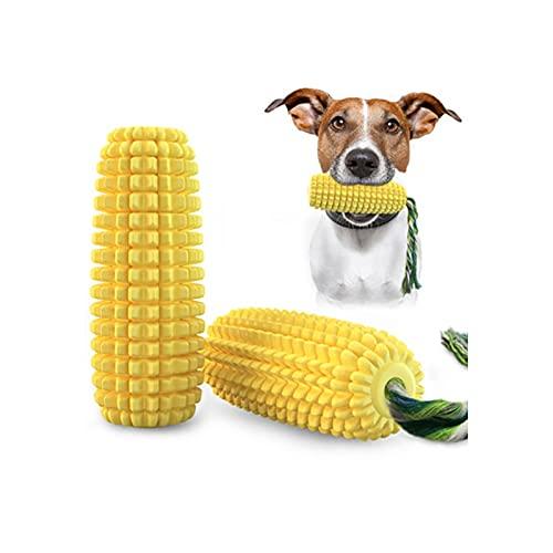 JQER Hundespielzeug - Natürliche Gummi Hund Zahnbürste Hund Kau...