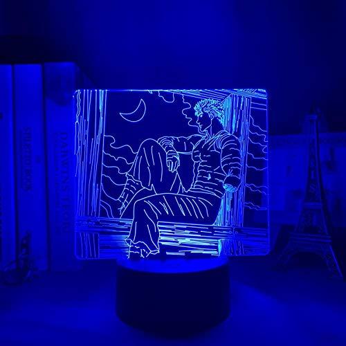 Berserk Guts ERJIE 3D-Nachtlampe Adventskalender 2021 Anime LED...