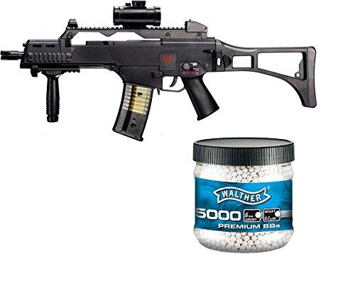 SET: HK Heckler & Koch G36 C AEG ELEKTRISCH Softair Gewehr +...
