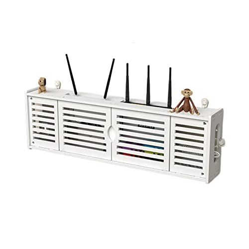 GJXJY WLAN Router Aufbewahrungsbox Netzwerk Set-Top-Box Storage...