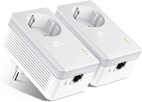 TP-Link TL-PA4010P KIT 600Mbit/s 2-Ports Passthrough Steckdose...
