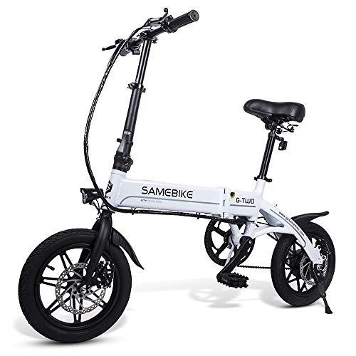 Sunydog 14 Zoll Elektrofahrrad Zusammenklappbares E-Bike...