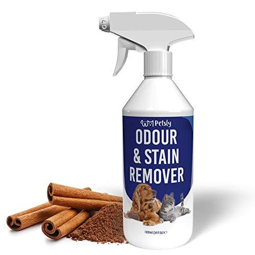 PETSLY - Geruchsentferner Katzen und Geruchsentferner Hunde Spray...