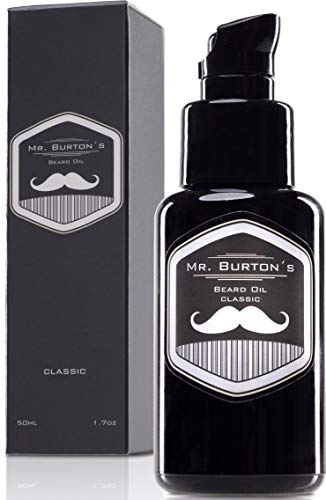 Bartöl - Mr. Burton´s Beard Oil - classic - Made in...