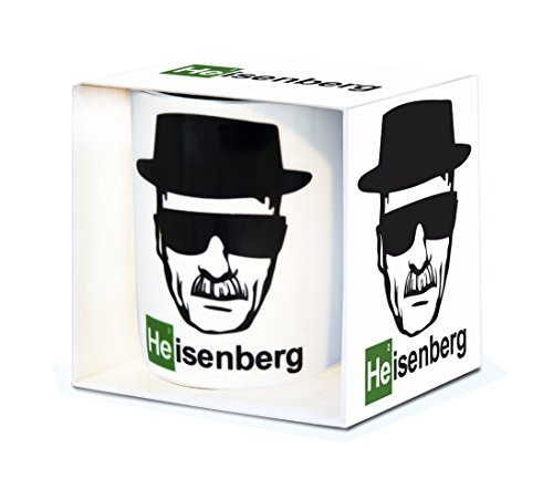 Logoshirt TV-Serie - Breaking Bad - Heisenberg - Porzellan Tasse...